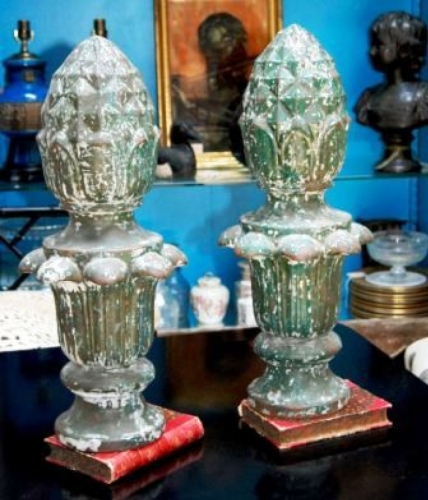 French Iron Finials