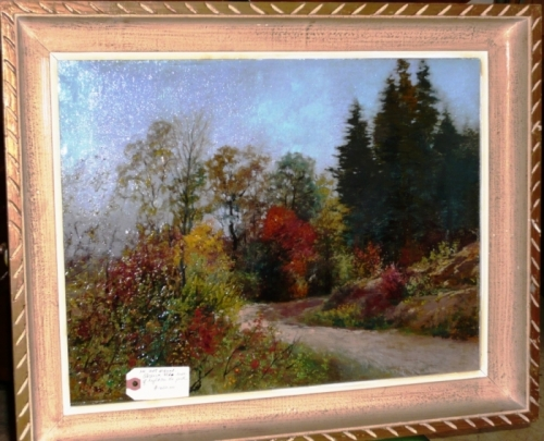 Post-Impressionist English Landscape Painting