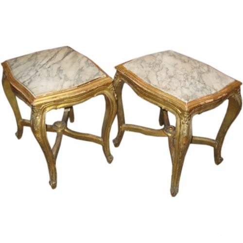Pair Louis XV-Style Tables