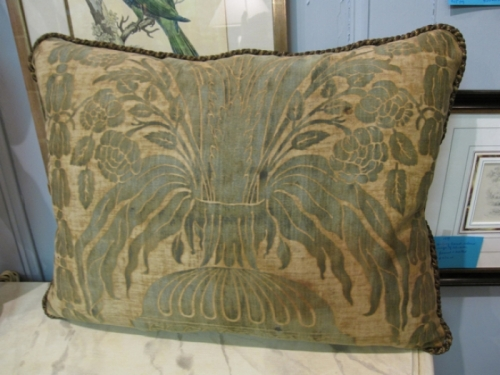 Mariano Fortuny Pillow, c. 1920
