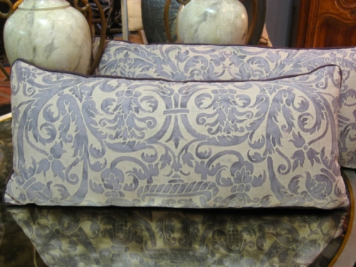 Vintage Fortuny Pillow c. 1960-70
