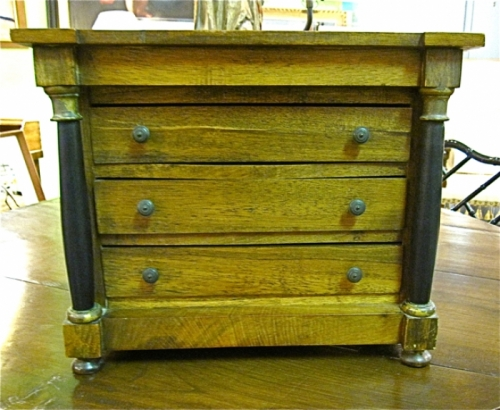 Miniature Neoclassical Chest of Drawers