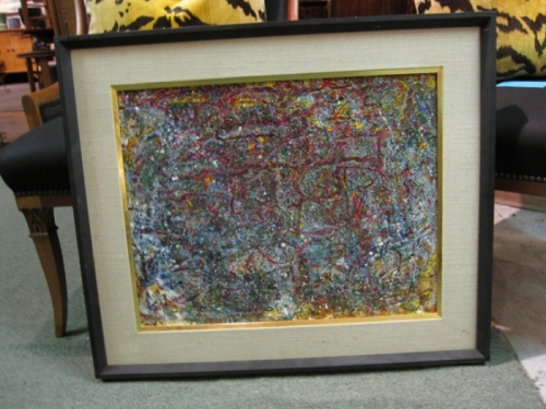 Abstract Oil Painting by Hutchison