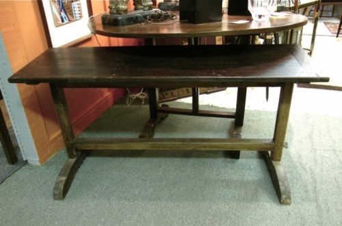 19th c. French Trestle Table