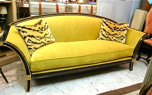 Product Name Art Deco Style Sofa Category Sold Items 20th C Furniture Ref Number 1 11 09 Of Item Measurements