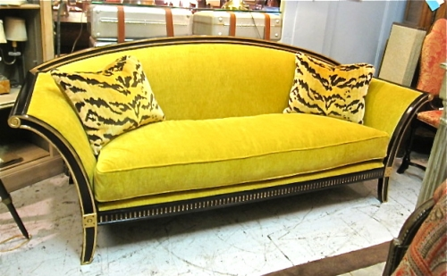art deco style sofa sold items 20th c furniture mjh design arts