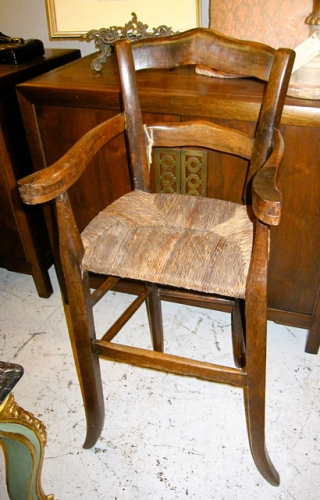 French 19th c. High Chair