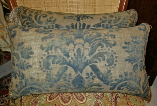Unique Antique c. 1920's Fortuny Pillow
