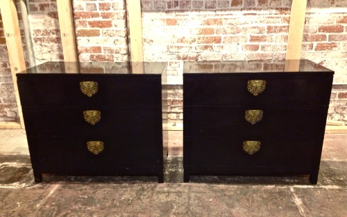 Pair Drexel Chests of Drawers