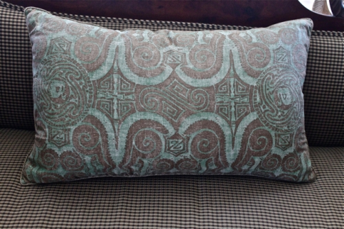 VINTAGE FORTUNY PILLOW IN EARLY