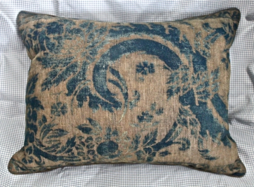 ANTIQUE MARIANO FORTUNY CREATED TEXTILE PILLOWS c. 1920