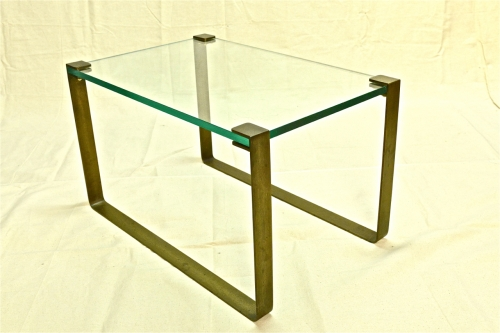 FONTANA ARTE BRONZE COFFEE TABLE