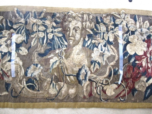 17TH C. FLEMISH TAPESTRY PANEL