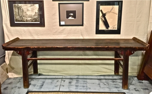 CHINESE ALTAR TABLE--MID 19th c.