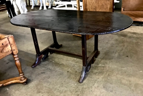 SWEDISH 18th/19th c. DINING TABLE