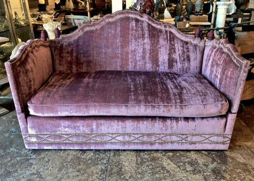 Baker Knole Style Sofa C 1980 Sold