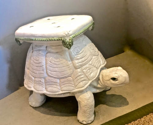 Groovy Italian Terra Cotta Tortoise Garden Stool Sold Items Pabps2019 Chair Design Images Pabps2019Com