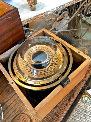 Early 20th Century Ship's Compass