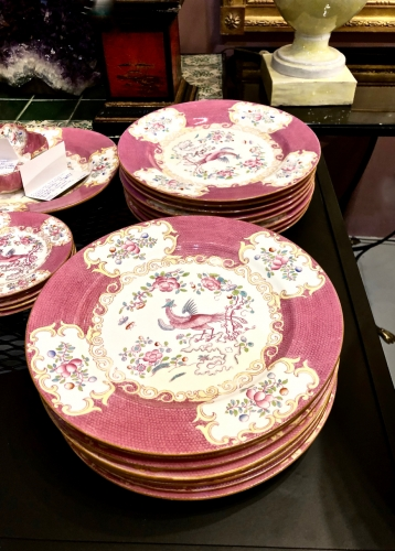 Set of 16 Minton