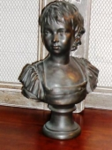 Terracotta Bust of 18th c. Child