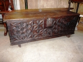 Early 18th c. Spanish Chest (Arca)