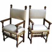 Early 18th s. Venetian Chairs