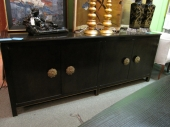 JAMES MONT STYLE CREDENZA-SIDEBOARD
