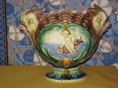 19th c. Majolica Planter