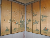 Hand Painted Chinese Panels, c. 1960