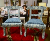 Bone Inlaid Child Chairs