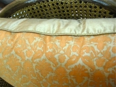 Pair Vintage Fortuny Pillows