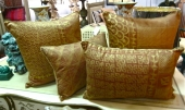 Ashanti Pattern Fortuny Pillows