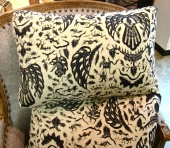 Vintage c.1970's Indonesian Batik Pillows