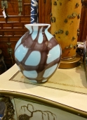 CZECHOSLOVAKIA ART GLASS VASE