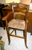 French 19th c. Child's High Chair