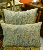 Vintage Fortuny Pillow in Caravaggio II