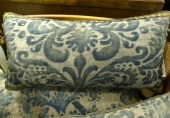 Antique Fortuny Pillow c. 1920 III