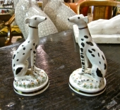Pair Staffordshire Dalmatians, 19th c.