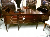 KITTINGER GEORGE WASHINGTON MAHOGANY DESK