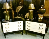 PR. BLACK & IVORY LACQUERED CHESTS