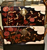 Pair Chinese Lacquer Trunks