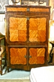 PERIOD LOUIS XV TRANSITIONAL SECRETAIRE A ABATTANT