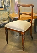 PR. ENGLISH REGENCY ROSEWOOD SIDE CHAIRS c.1810-20