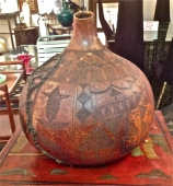 Antique Kenyan Gourd Bottle