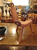 AFRICAN BIRTHING STOOL