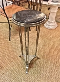 ART DECO SILVER PLATED TRIPOD STAND c. 1925-30