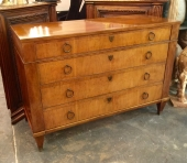 BAKER FRENCH NEO-CLASSICAL STYLE CHEST OF DRAWERS c. 1960