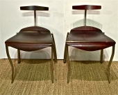 PAIR MEMPHIS ATTRIBUTED PROTOTYPE CHAIRS