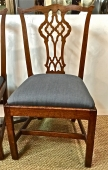 PR. PERIOD GEORGE III SIDE CHAIRS c.1780--I