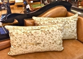 PR. EARLY 20TH C. OBI PILLOWS